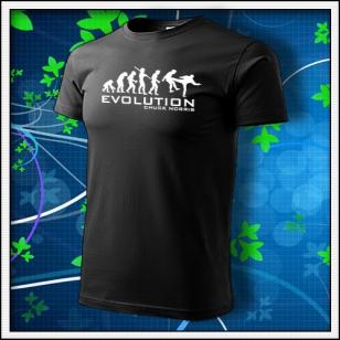 Evolution Chuck Norris - čierna