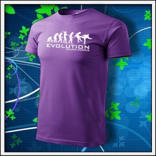 Evolution Chuck Norris - fialová