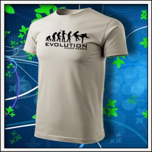 Evolution Chuck Norris - ľadovosivá