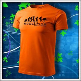 Evolution Chuck Norris - oranžová