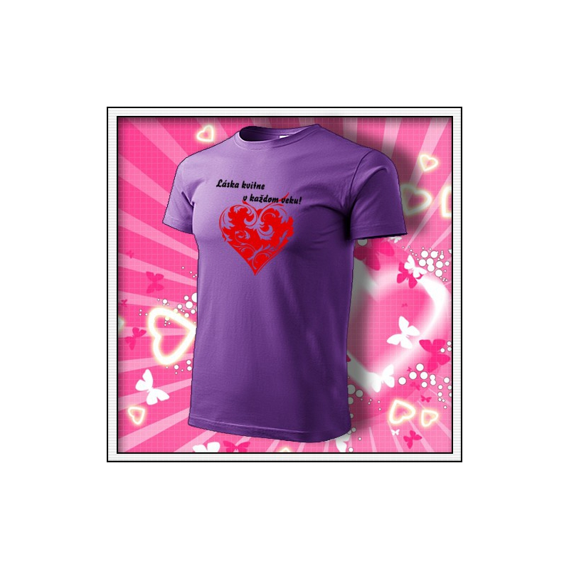 Láska kvitne - fialové