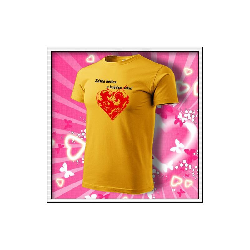 Láska kvitne - žlté
