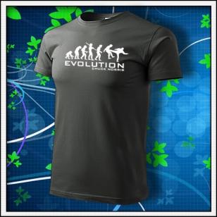 Evolution Chuck Norris - tmavá bridlica