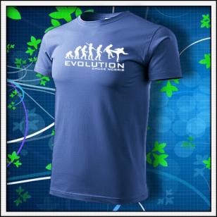 Evolution Chuck Norris - svetlomodrá
