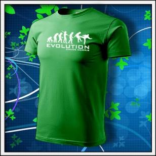 Evolution Chuck Norris - trávovozelená