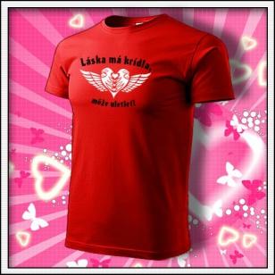 Láska má krídla - červené