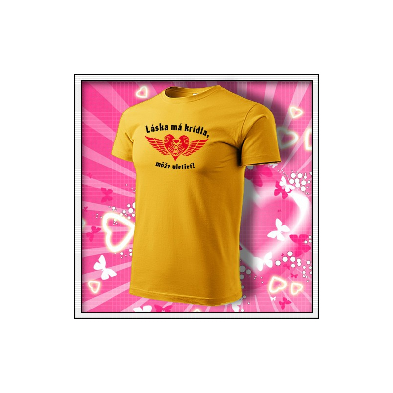 Láska má krídla - žlté