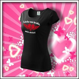 Láska má krídla - dámske čierne