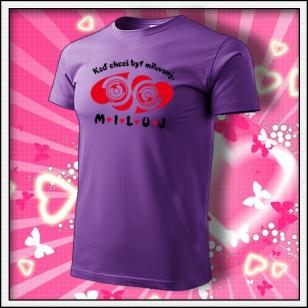 MILUJ - fialové
