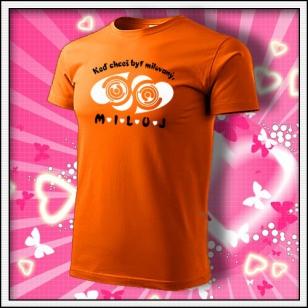 MILUJ - oranžové
