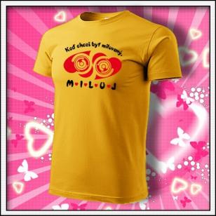MILUJ - žlté
