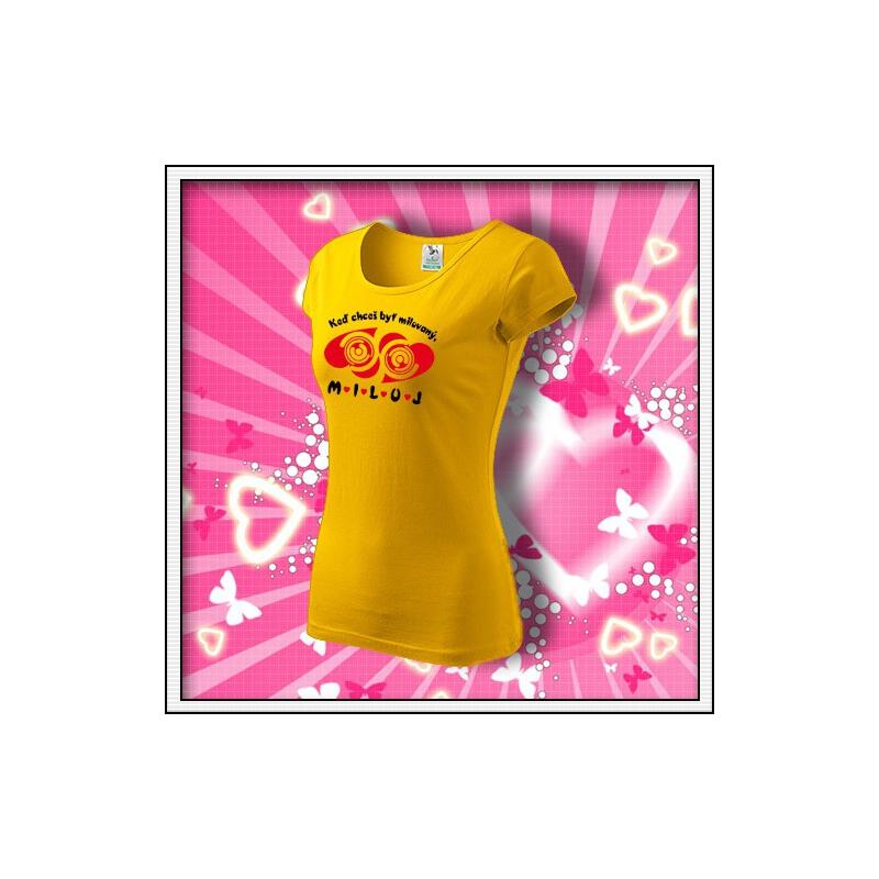 MILUJ - dámske žlté