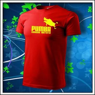 Pumba - červené