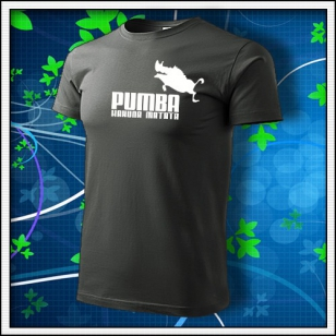 Pumba - tmavá bridlica