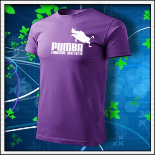 Pumba - fialové