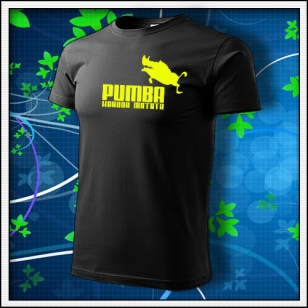 Pumba - čierne