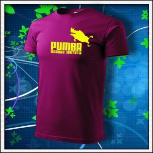 Pumba - fuchsia red