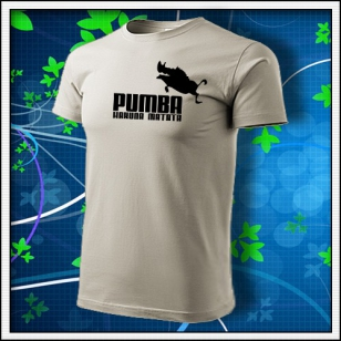 Pumba - ľadovosivé
