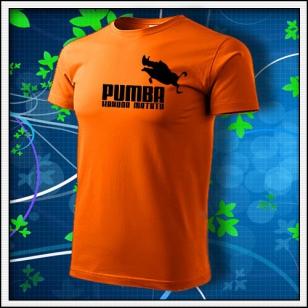Pumba - oranžové