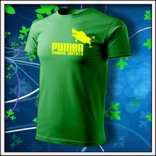 Pumba - trávovozelené