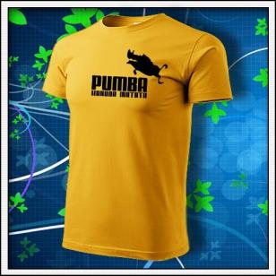 Pumba - žlté