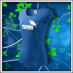 Pumba - dámske svetlomodré