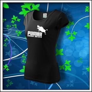Pumba - dámske čierne