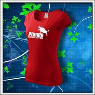 Pumba - dámske červené