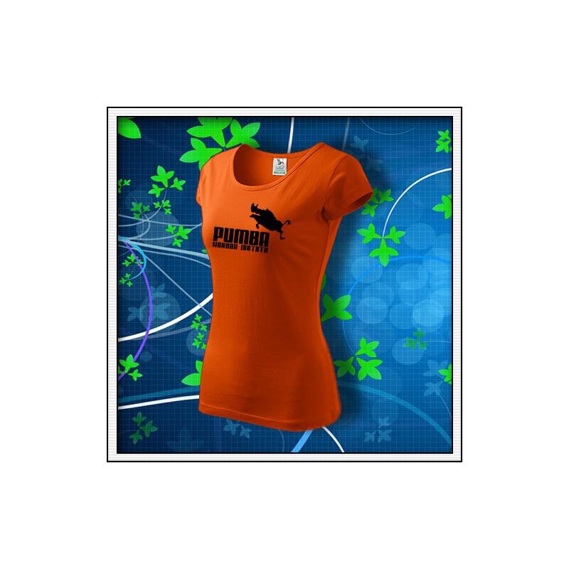 Pumba - dámske oranžové