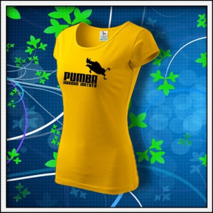 Pumba - dámske žlté
