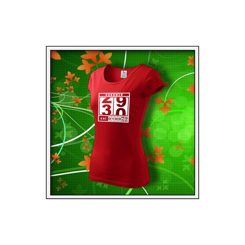 Rokomer - dámske červené