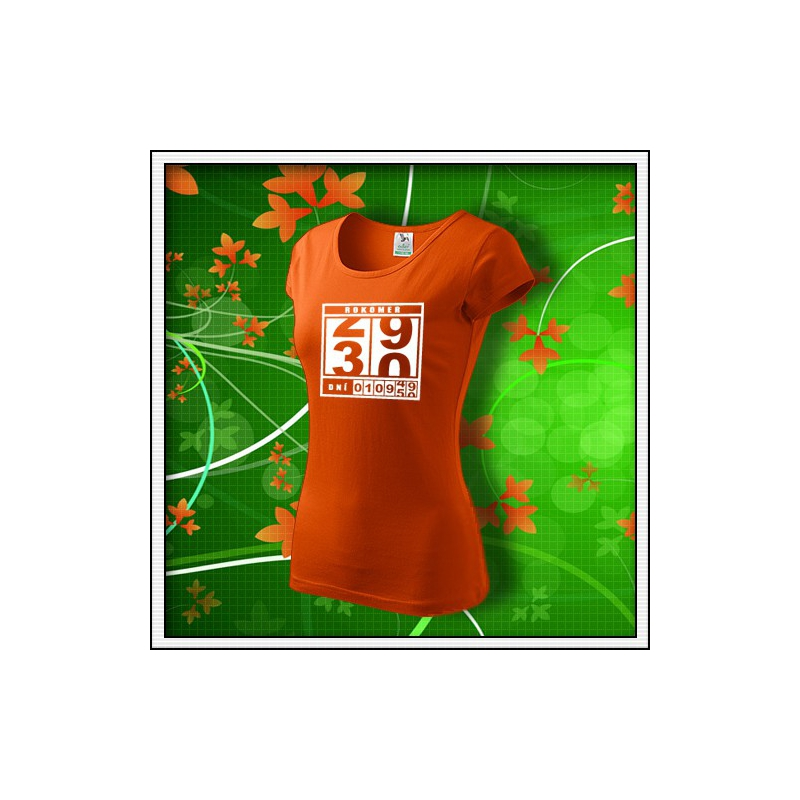 Rokomer - dámske oranžové