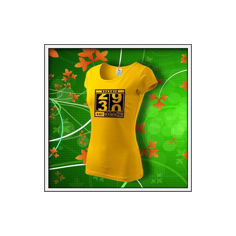 Rokomer - dámske žlté