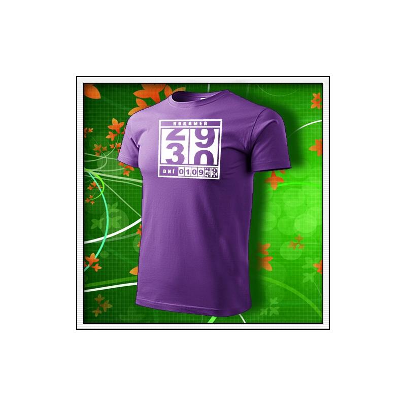 Rokomer - fialové