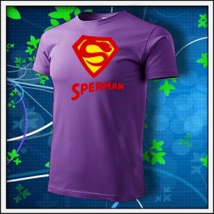 Sperman - fialové