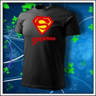 Sperman - čierne