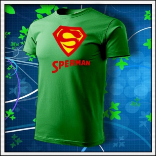 Sperman - trávovozelené