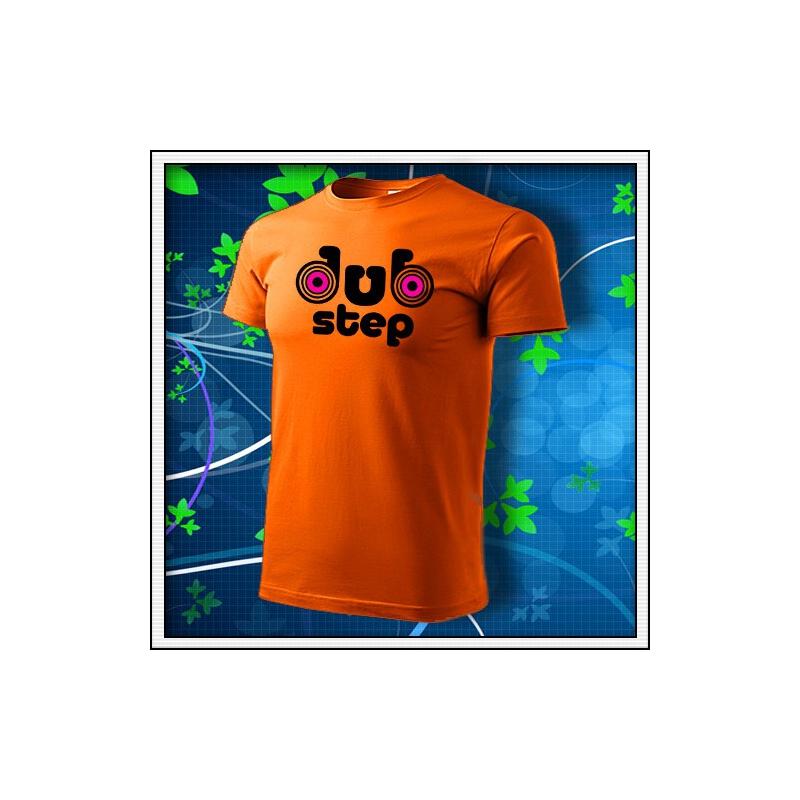 Dubstep 1 - oranžové s neónovými kruhmi