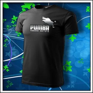 Pumba - unisex reflexná potlač