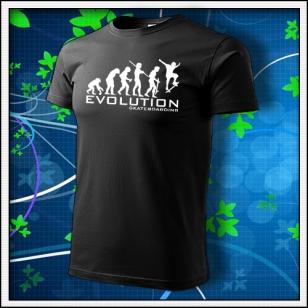 Evolution Skateboarding - čierne