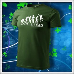 Evolution Skateboarding - fľaškovozelené
