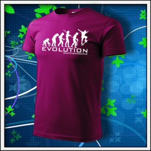 Evolution Skateboarding - fuchsia red