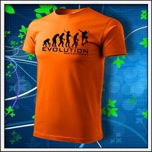 Evolution Skateboarding - oranžové