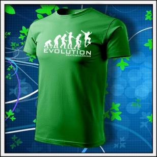 Evolution Skateboarding - trávovozelené
