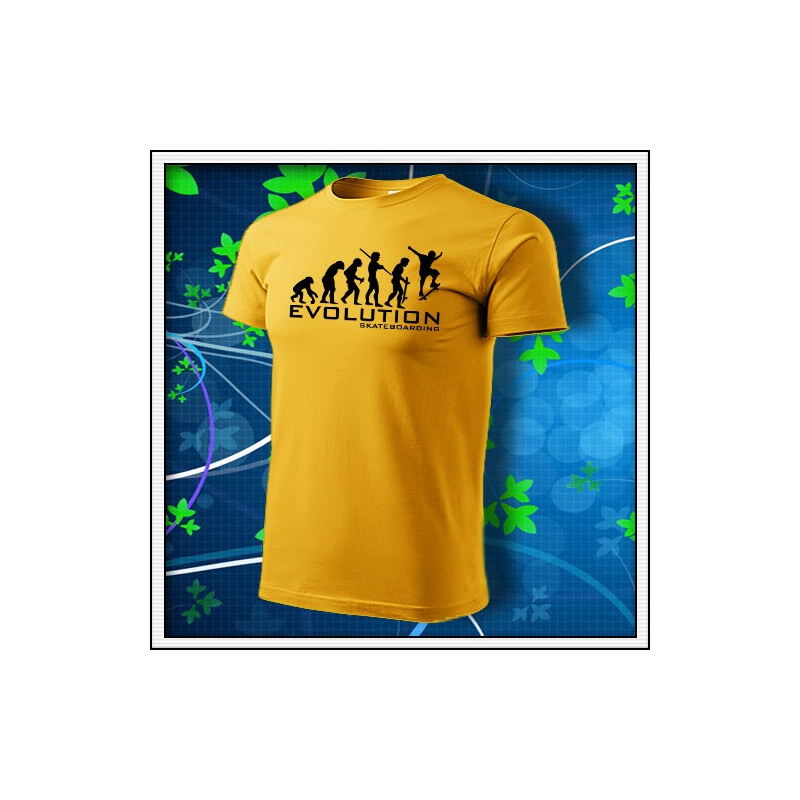 Evolution Skateboarding - žlté