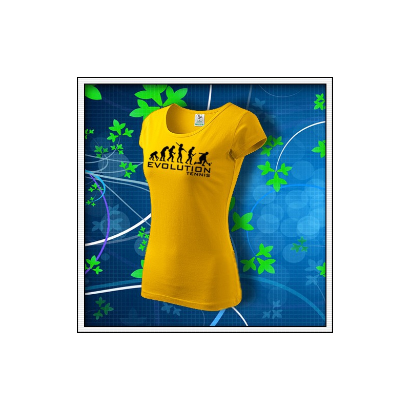 Evolution Tennis - dámske žlté