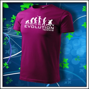 Evolution Tennis - fuchsia red
