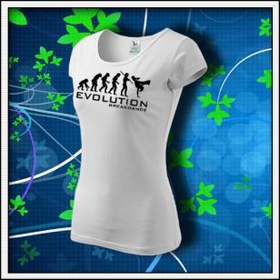 Evolution Breakdance - dámske biele