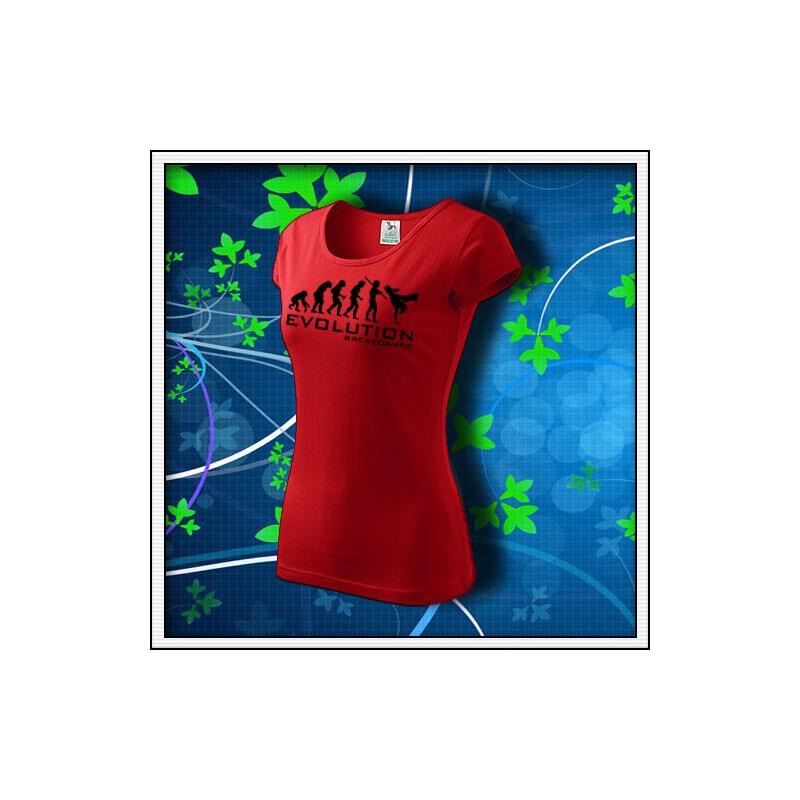 Evolution Breakdance - dámske červené