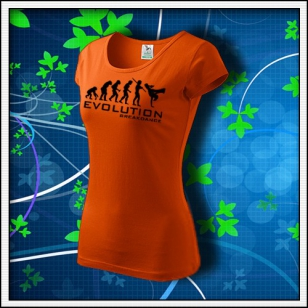 Evolution Breakdance - dámske oranžové